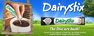Dairystix - UHT semi skimmed milk - Bulk Portions 120 x 12ml single servings