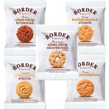 Border Biscuits ---- double portions ---- 5 packs of 2 biscuits