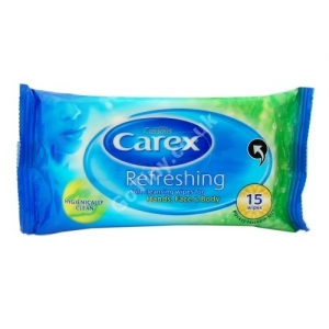 Carex Refreshing Wipes