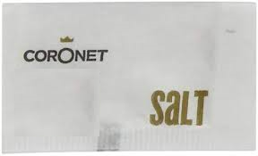 Coronet/Lichfields Salt - (ONLY 1p each) - SinglePortion sachets