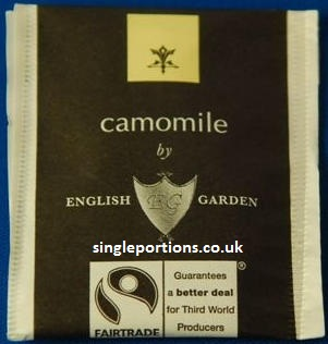 ENGLISH GARDEN - camomile - tea bags