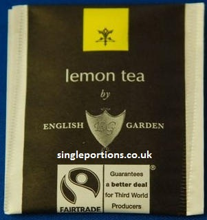 ENGLISH GARDEN - lemon - tea bags