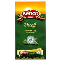 Kenco DECAFF Coffee Sticks 200 single portions BULK