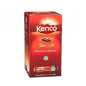 Kenco Smooth Coffee Sticks 200 single portions - BULK