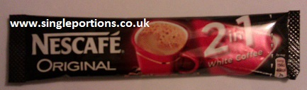Nescafe Original 2 in 1 white coffee sachet sticks